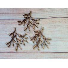Mistletoe Laser cut MDF PK10